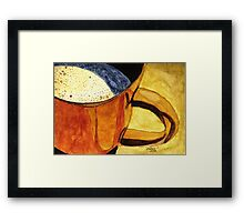 Let's Have A Cuppa! Framed Print