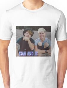 Kian and Jc sitting small blue purple name Unisex T-Shirt