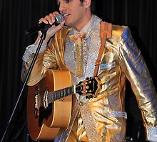 The Aussie Elvis. Brisbane, Queensland, Australia. by Ralph de Zilva