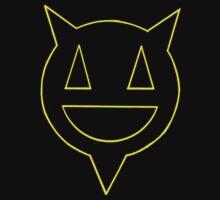 Percentum logo yellow outline Baby Tee