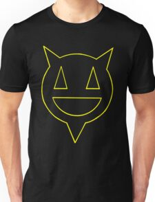 Percentum logo yellow outline Unisex T-Shirt