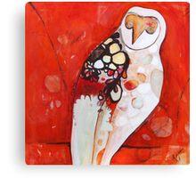 Masked Owl Canvas Print