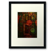 Shared Pattern Framed Print