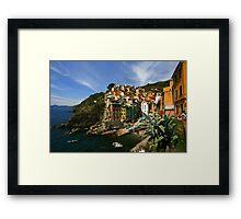 Riomaggiore Cinque Terre Framed Print