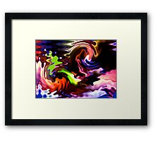 Abstract #83 Framed Print