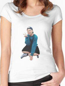 Rap Monster BTS Women's Fitted Scoop T-Shirt