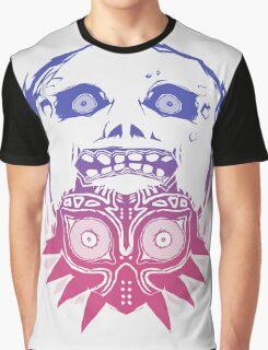 Majora's mask - Colour Gradient  Graphic T-Shirt
