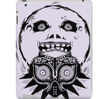 Majora's mask - Black iPad Case/Skin