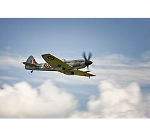 Spitfire over Duxford Photographic Print