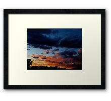 Cloudy Night Framed Print