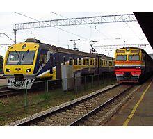 Latvian Trains Photographic Print