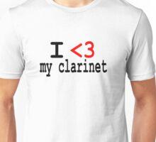 Clarinet  Unisex T-Shirt