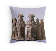 Roman Chess Set Throw Pillow