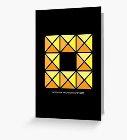 Design 158 Greeting Card