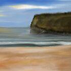 Beach at Alvor by Simon Kelshaw