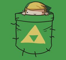Pocket Link (with triforce) by PjMann