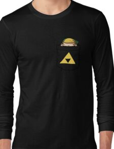 Pocket Link (with triforce) Long Sleeve T-Shirt