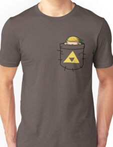 Pocket Link (with triforce) Unisex T-Shirt