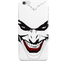The Joker's Smile iPhone Case/Skin