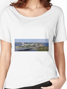 Perth panorama Women's Relaxed Fit T-Shirt