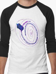 TARDIS2 Men's Baseball ¾ T-Shirt