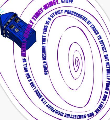 TARDIS2 Sticker