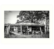 The Farmers Shed Art Print