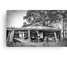 The Farmers Shed Metal Print