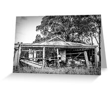The Farmers Shed Greeting Card