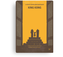 No133 My KING KONG minimal movie poster Canvas Print