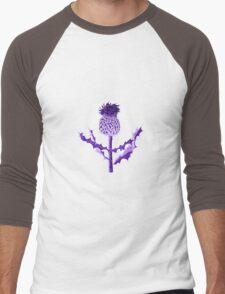 Purple Thistle DuoTone Men's Baseball ¾ T-Shirt