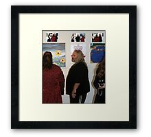 If the crown fits, wear it!  King Steve I.  Framed Print