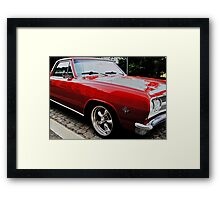 Camero Rouge Framed Print