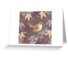 A House of Twigs & Leaves Greeting Card
