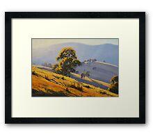 Summer Landscape Turon Framed Print