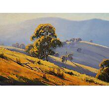 Summer Landscape Turon Photographic Print