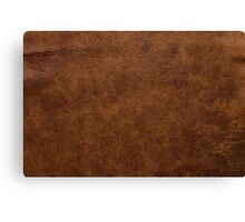 leather Style Limited Edition Notebook and Iphone skin Canvas Print