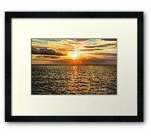 Bundoran Sunset (hdr) Framed Print