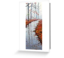 Autumn Solitude Greeting Card