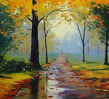 Wet Autumn Day by Graham Gercken