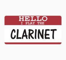 Clarinet Kids Tee