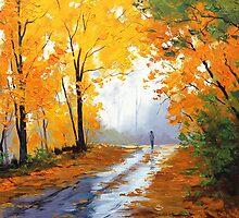Autumn Morning by Graham Gercken