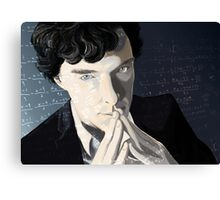 The genius Canvas Print