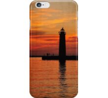 Lighthouse Silhouette iPhone Case/Skin