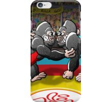 Olympic Wrestling Gorillas iPhone Case/Skin