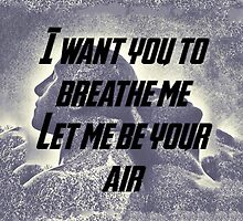 Let Me Be Your Air by appfoto