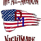 All-American Nightmare Design III by DMurdoch1388