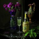 Bubbly and Grape Leaves by FrankSchmidt