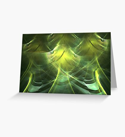 Chartreuse Greeting Card