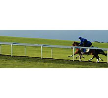 NEWMARKET GALLOPS Photographic Print